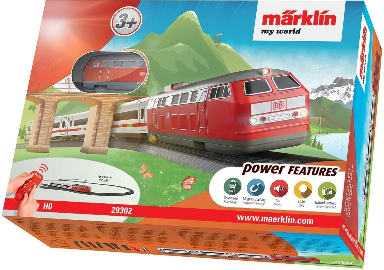 Märklin my world Startpackung Intercity (29302)