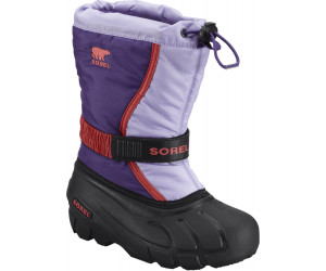 Sorel Flurry Childrens chaussures d'hiver enfants grape RpJf8L0yoq