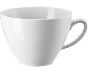 Kaffeetasse Tasse 0,29 ltr. Rosenthal Mesh Weiss Kombitasse 2-tlg