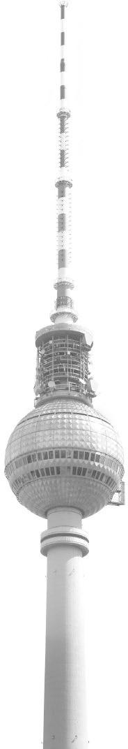Komar Wandbild Berlin Fernsehturm (V1-776)