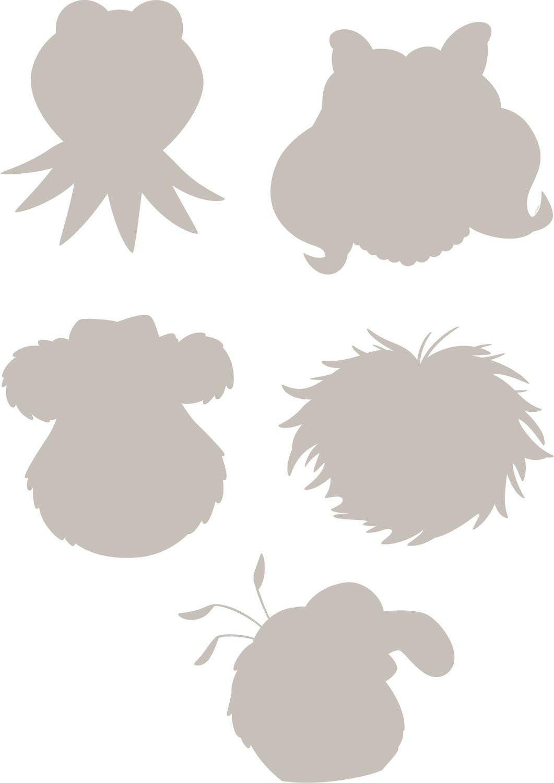 Komar Wandtattoo Muppets (14005)