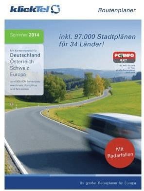KlickTel Routenplaner Deutschland Sommer 2014 (...