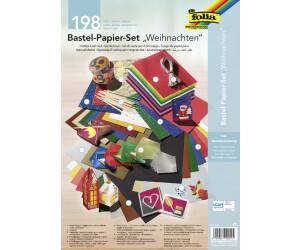 Folia Bastel-Papier-Set Weihnachten