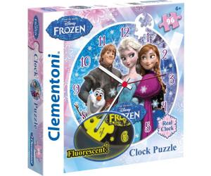 Clementoni Frozen - 96 Pcs - Clock Puzzle