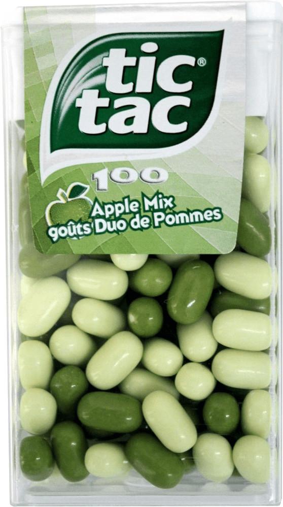 TicTac 100 Apple Mix (49g)