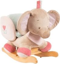 Nattou Schaukeltier Rose der Elefant