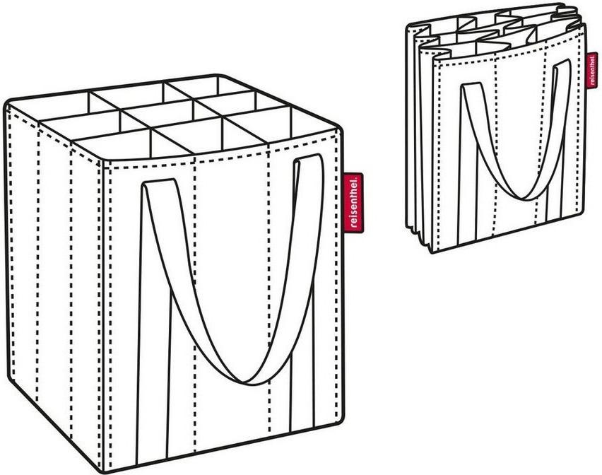 genius flaschentasche f r 6 flaschen schwarz taschen einkaufsk rbe taschen. Black Bedroom Furniture Sets. Home Design Ideas