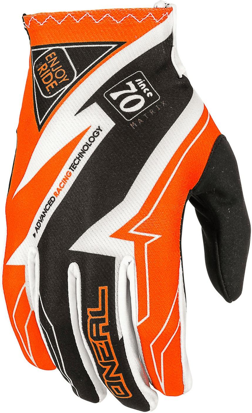 O'Neal Matrix Racewear negro/naranja