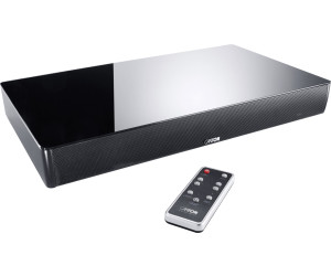 Canton Dm Wireless Sound Base With Integrated Subwoofer Glass Black