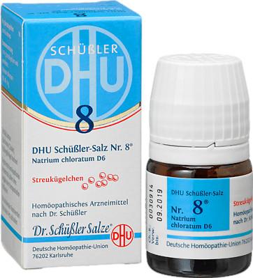 Dr. Schüßler Salze Biochemie Nr. 8 Natrium chloratum D 6