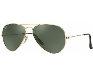 RAY BAN RAY-BAN Sonnenbrille »OUTDOORSMAN II RB3029«, goldfarben, 181 - gold/grün