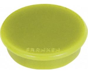 32 mm silber 10 Magnete FRANKEN Haftmagnet MagFun Durchmesser