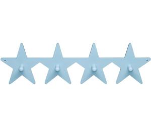 Kids Concept Kleiderhaken Stern grau 14 x 14 cm Wandhaken Garderobenhaken