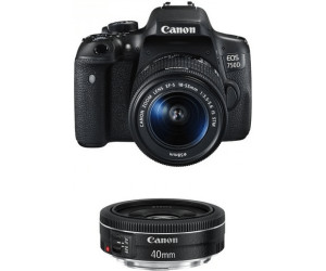 Canon EOS 750D Kit 18-55mm + 40mm