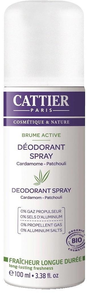 Cattier Brume Active Deodorant (100ml)