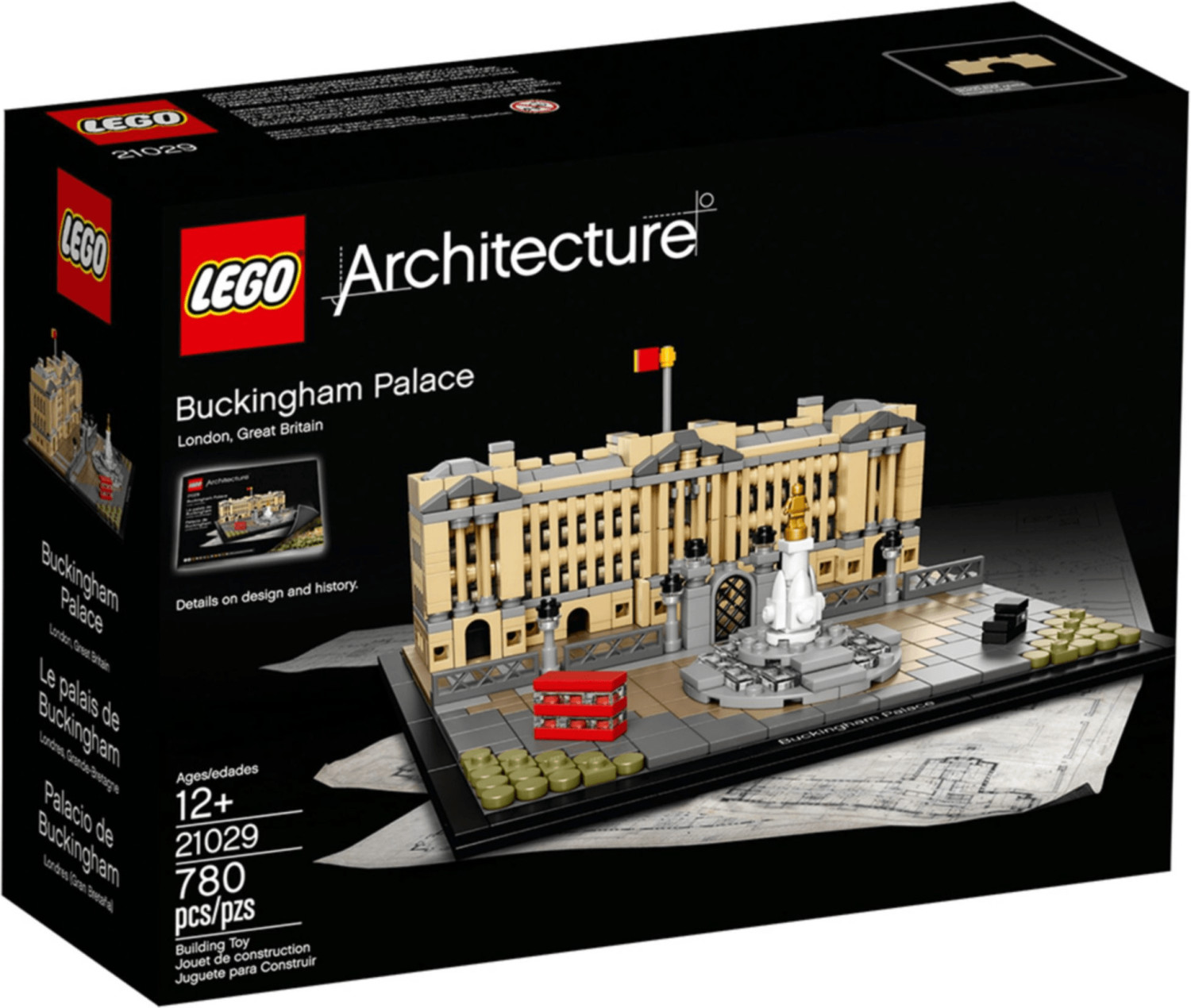 LEGO Architecture - Buckingham Palace (21029)