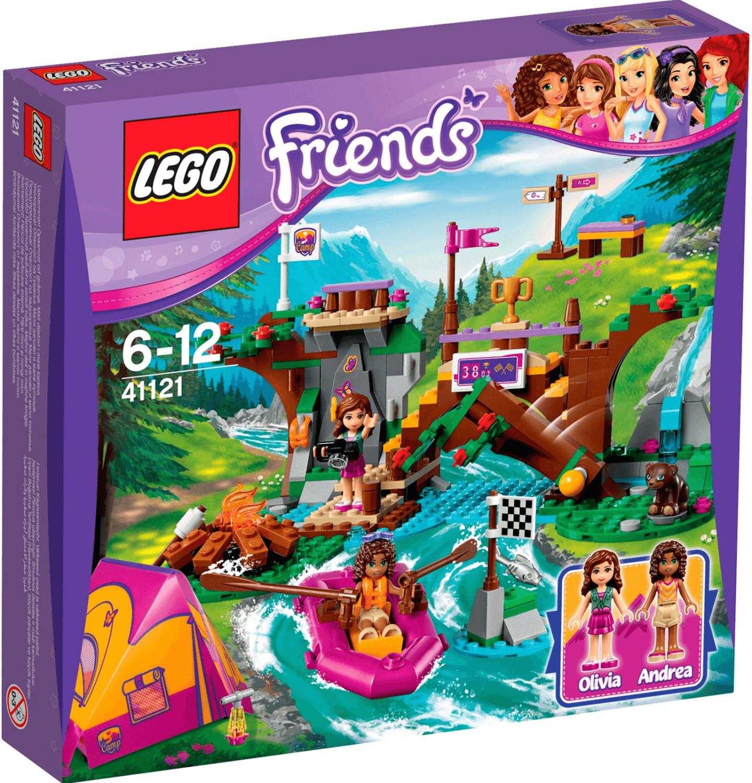 LEGO Friends - Rafting à la base d'aventure (41121)