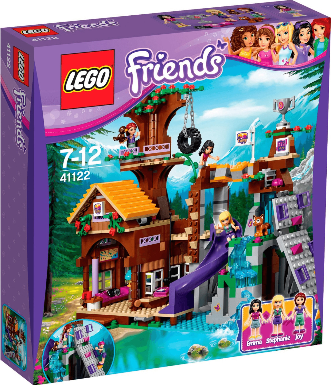 LEGO Friends - La cabane de la base d'aventure (41122)