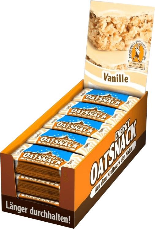 Oatsnack Energie Riegel 15er Box Vanille