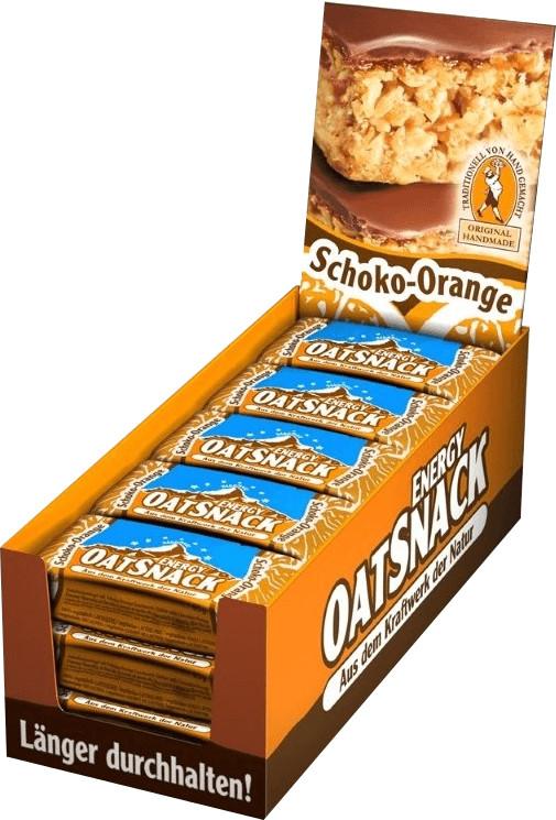 Oatsnack Energie Riegel 15er Box Schoko Orange