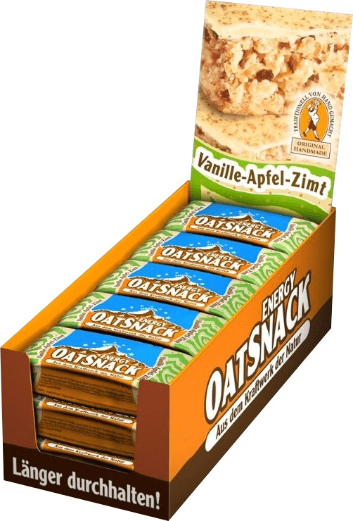 Oatsnack Energie Riegel 15er Box Vanille Apfel ...