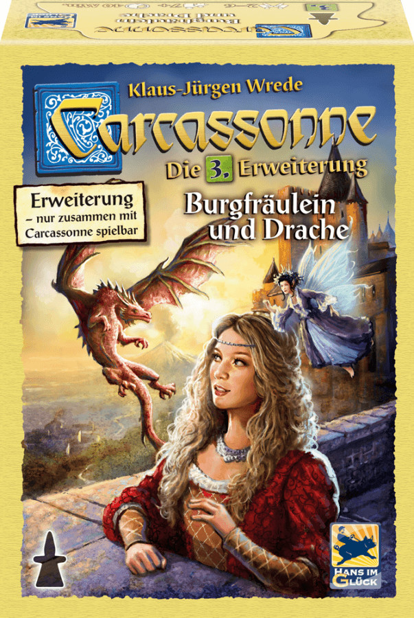 Schmidt-Spiele Carcassonne Burgfräulein und Drache (48256)