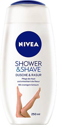 Nivea Shower & Shave Duschgel (205 ml)