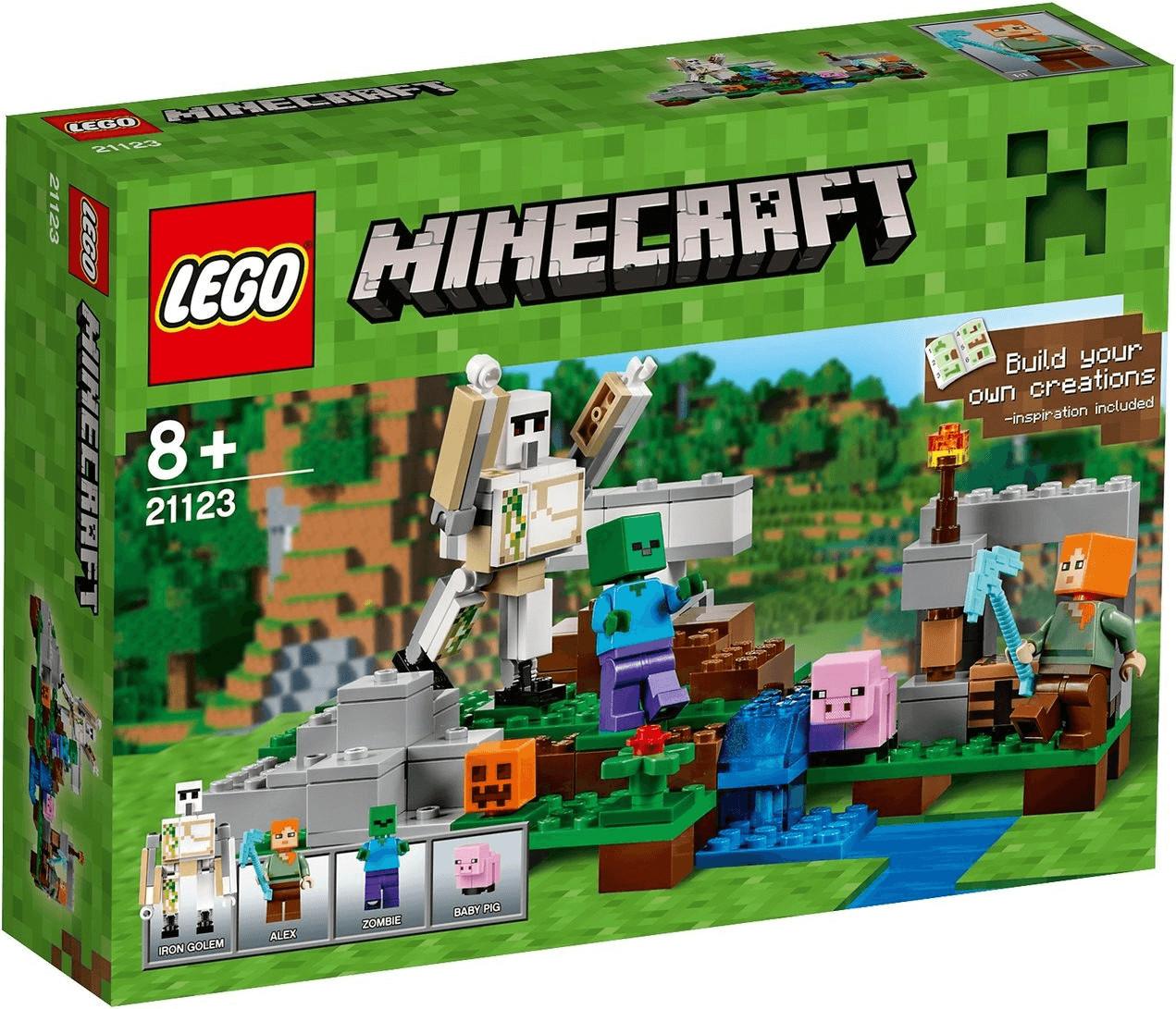 LEGO Minecraft - Der Eisengolem (21123)