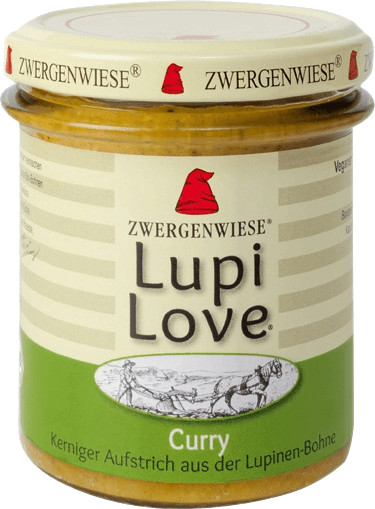 Zwergenwiese Lupi Love Curry (165g)