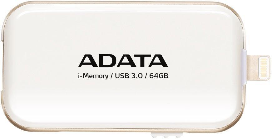 Adata i-Memory UE710 64GB weiß
