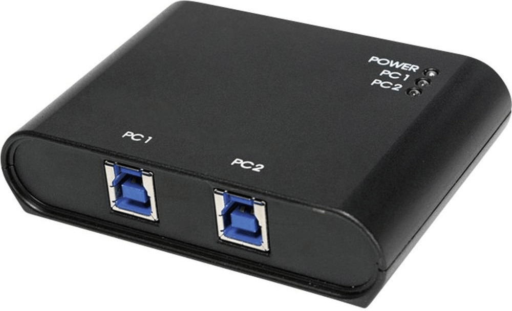 Image of LogiLink 2 Port USB 3.0 Switch (UA0216)