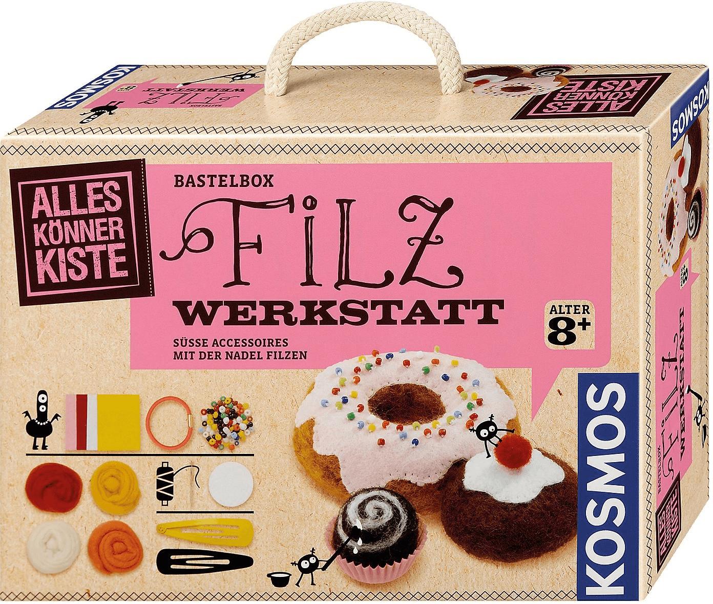 Kosmos Alleskönner-Kiste Filz-Werkstatt
