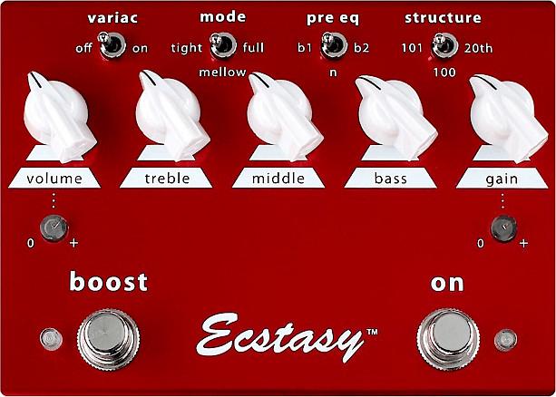 Image of Bogner Amplification Ecstasy Red