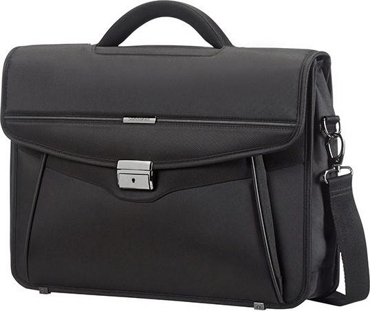 Samsonite Desklite Briefcase 42 cm black (67768)