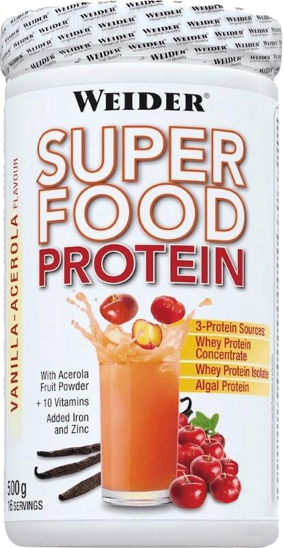 Weider Fitness Super Protein Food 500g Vanille ...