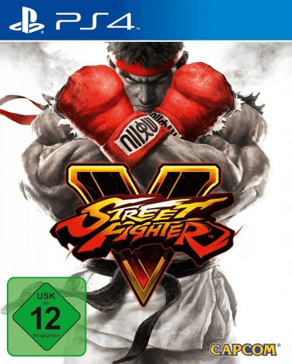 Street Fighter V: Steelbook Edition (PS4)
