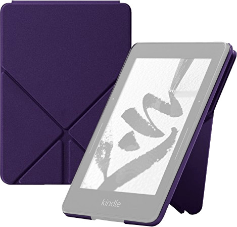 Kindle Origami Book Cover for Kindle Voyage purple