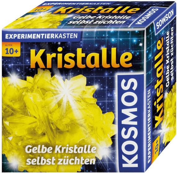 Kosmos Kristalle gelb