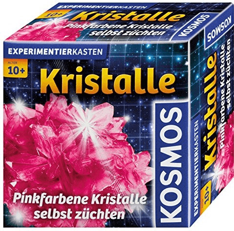 Kosmos Kristalle pink