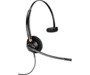 Plantronics HW111N//A Entera NC Kopfb/ügelmodell Monaural Headset schwarz