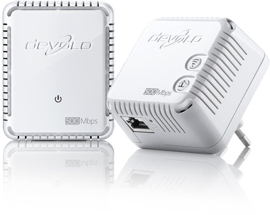 Image of devolo dLAN 500 WiFi Powerline Kit