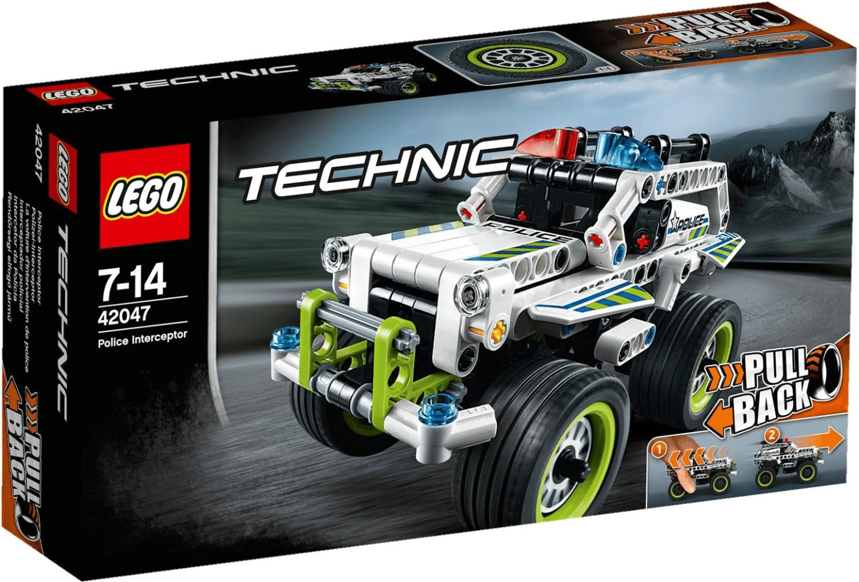 LEGO Technic - La voiture d'intervention de police (42047)