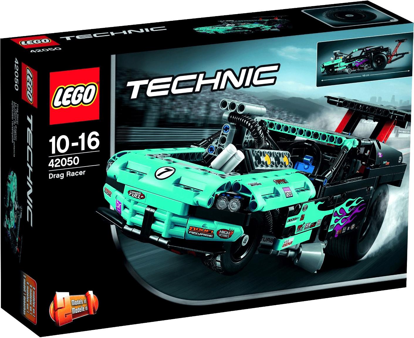 LEGO Technic - 2 in 1 Drag Racer (42050)