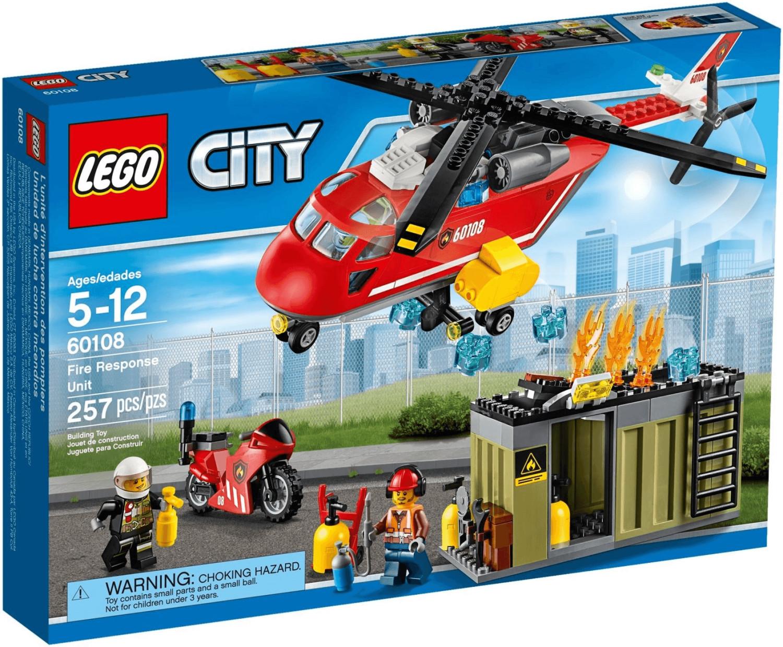 LEGO City - Feuerwehr-Löscheinheit (60108)