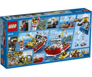 lego city fire boat 60109 - Lego City Pompier