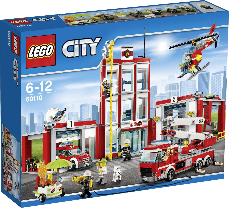 LEGO City - Große Feuerwehrstation (60110)
