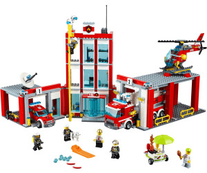 lego city fire station 60110 - Lego City Pompier
