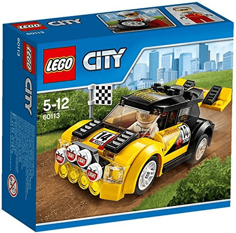 LEGO City - La voiture de rallye (60113)