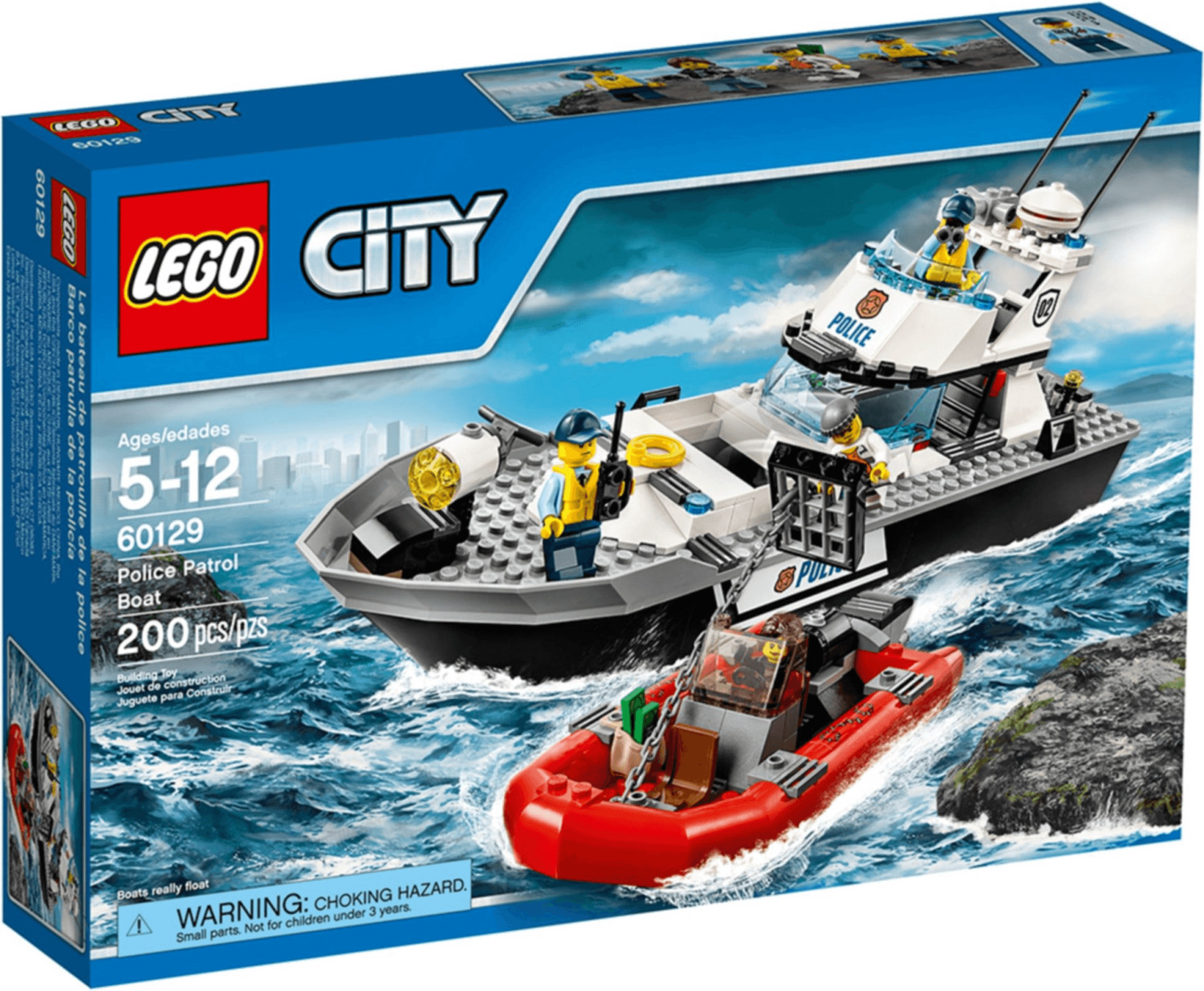 LEGO City - Polizei-Patrouillen-Boot (60129)