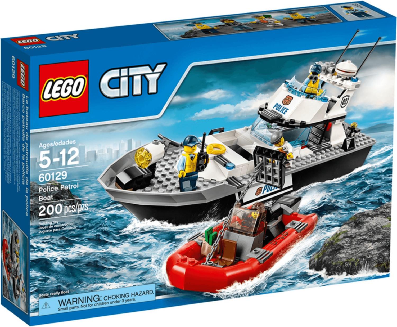 LEGO City - Polizei-Patrouillen-Boot (60129)